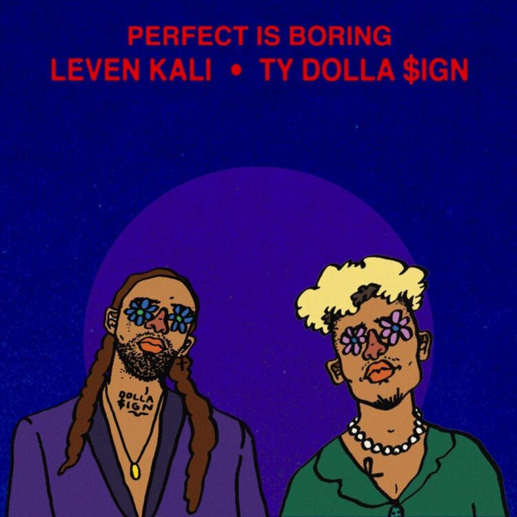"""Leven Kali """"Perfect is Boring"""" single cover"""