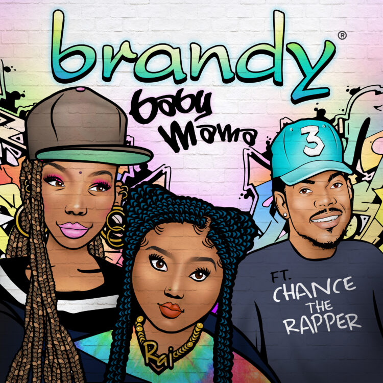 Brandy Baby Mama featuring Chance the Rapper single artwork