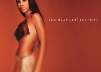 "Toni Braxton ""The Heat"" album cover"