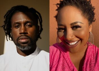 """Aaron Taylor and Lalah Hathaway """"Don't Leave Me Alone"""""""