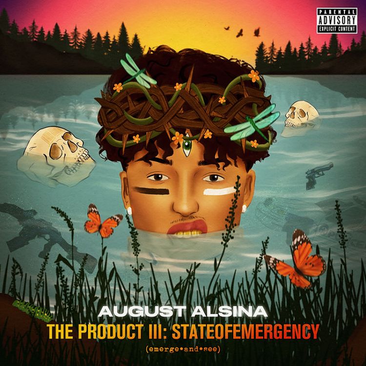 August Alsina new album The Product III: stateofEMERGEncy