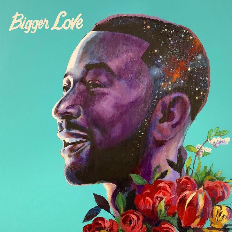 John Legend Bigger Love album cover
