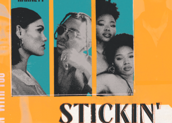 Sinead Harnett Stickin single cover featuring Masego and VanJess