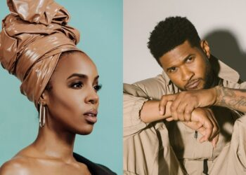 """Kelly Rowland and Usher in """"Bad Hair"""" movie"""