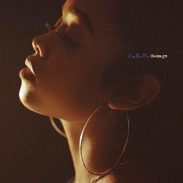 H.E.R. Damage single cover art