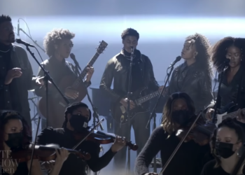 """Infinity Song """"Mad Love"""" performance on """"The Late Show with Stephen Colbert"""""""