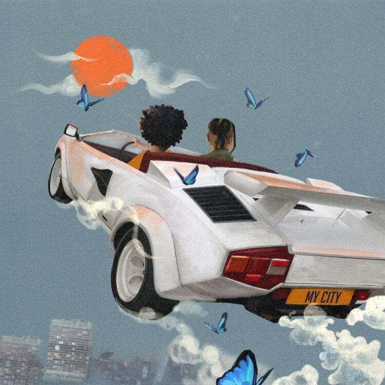 ELHAE and Masego My City single artwork