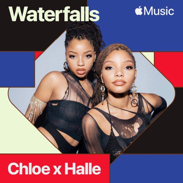 Chloe x Halle Waterfalls cover TLC