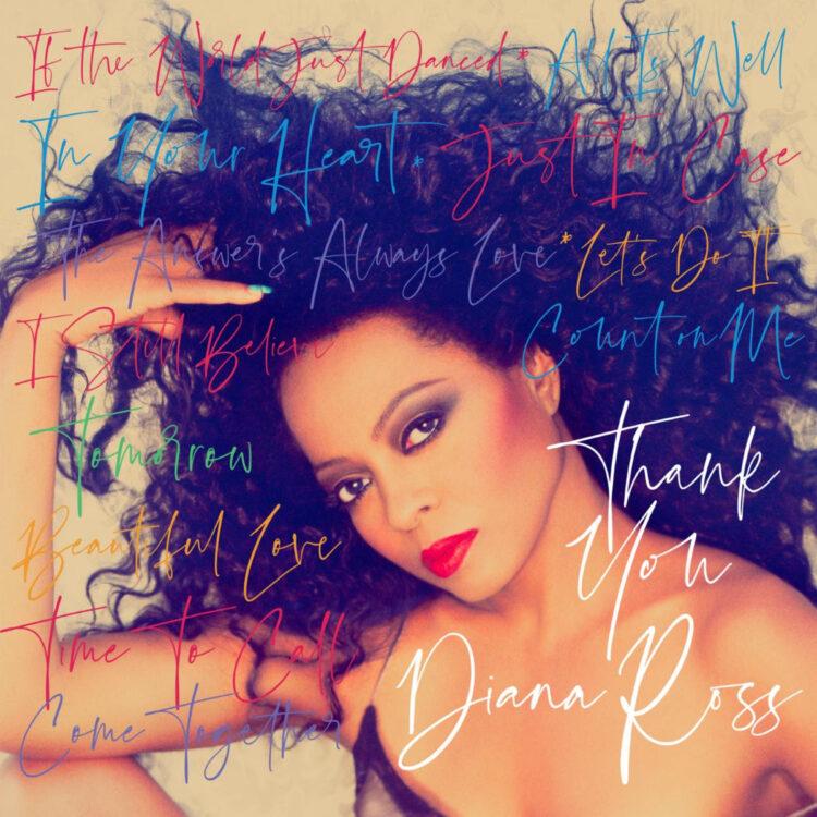 Diana Ross Thank You Album Cover