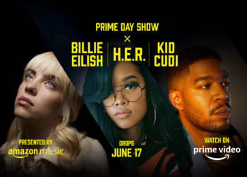 Amazon Prime Day Show with H.E.R., Billie Eilish and Kid Cudi