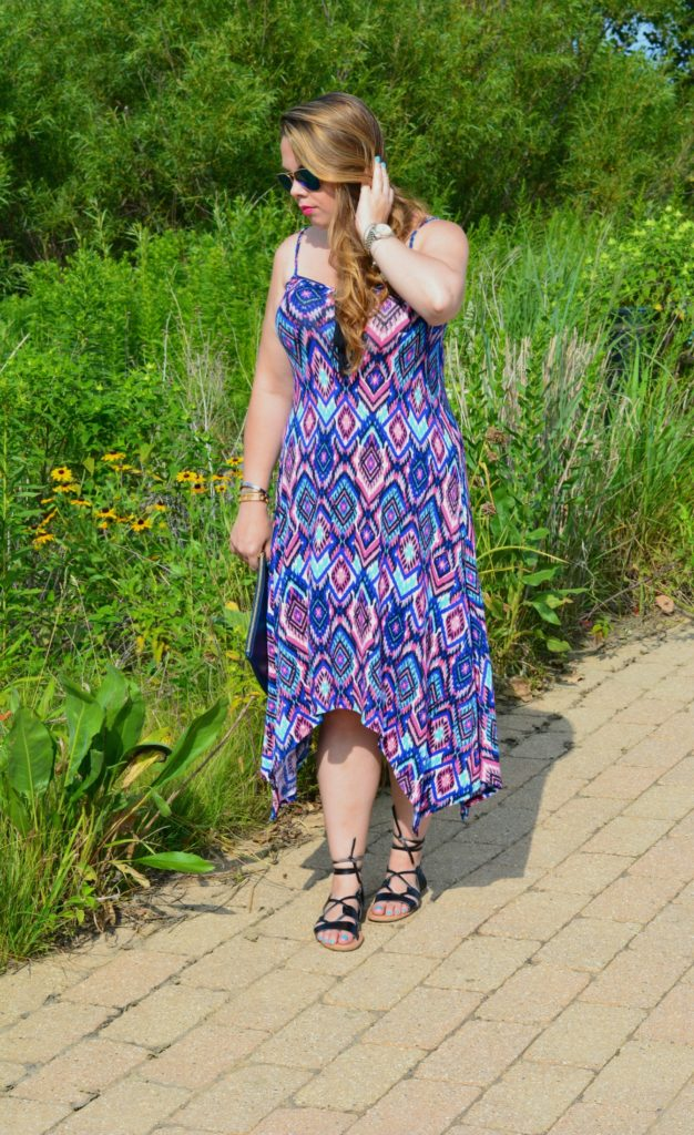 tassel tie dress ft. groopdealz 6