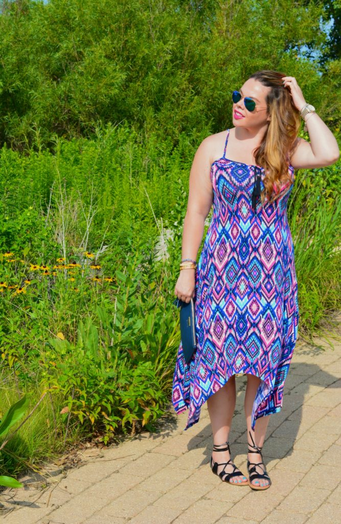 tassel tie dress ft. groopdealz