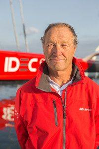 Francis Joyon. Photo Jean Marie Liot / DPPI / IDEC
