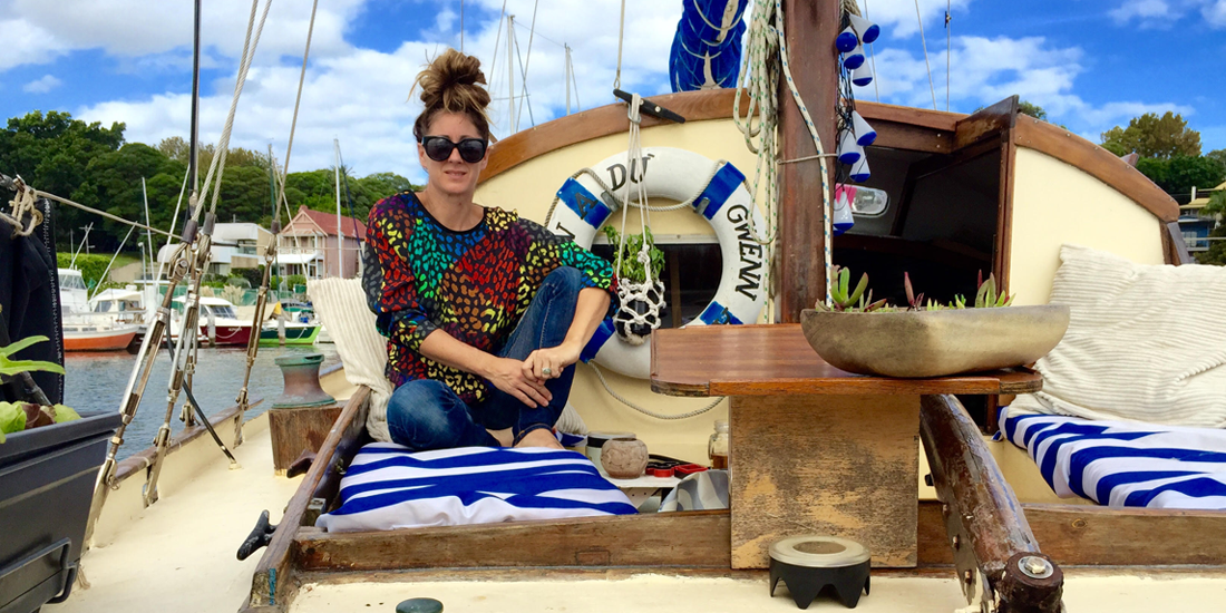 "Photo of INTERVIEW. Sophie Thé: ""To reconcile work and a life on a boat is possible!"""