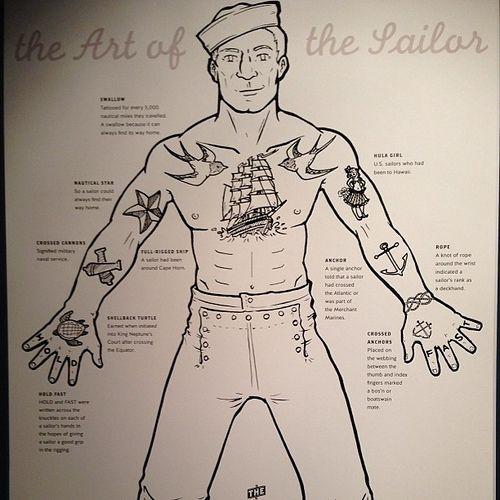 sailor tatoo