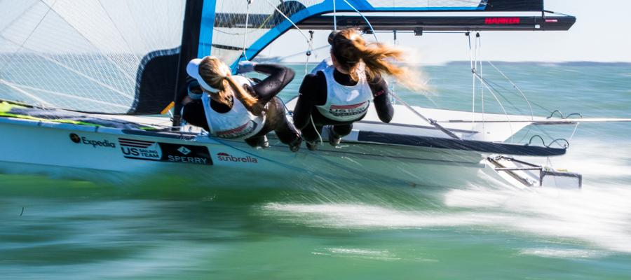 Sailing World Cup Miami presented by Sunbrella Day 1