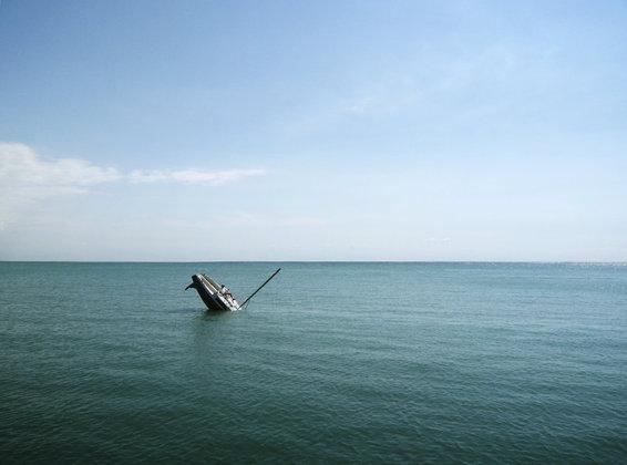 sailboat sinking