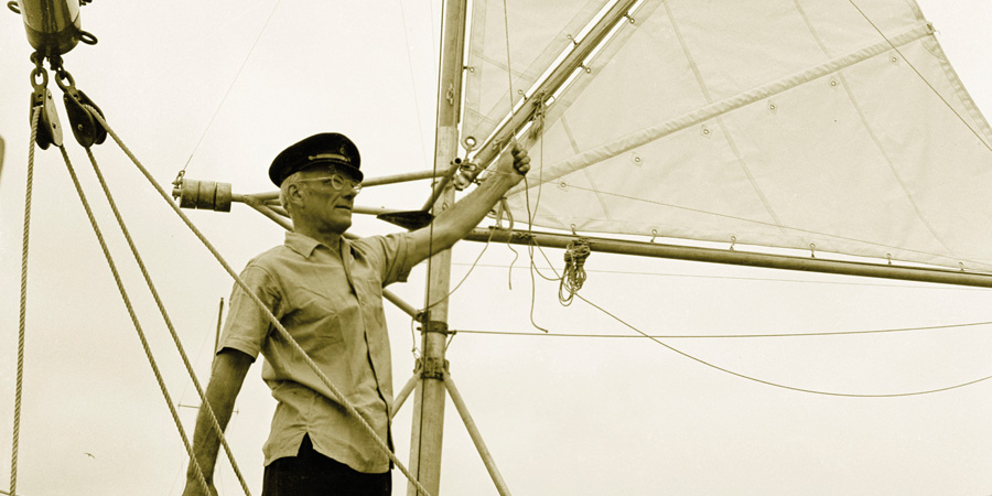 Photo of Francis Chichester, the man who was 'too old' to sail solo around the world