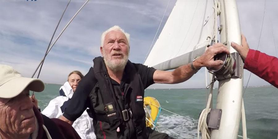 Robin-Knox-Johnston sailing