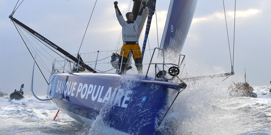 Photo of Great Job Armel! Le Cléac'h won the Vendée Globe setting a new record!