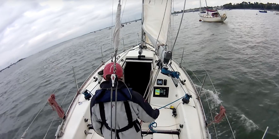 Photo of Sailing a yacht single handed