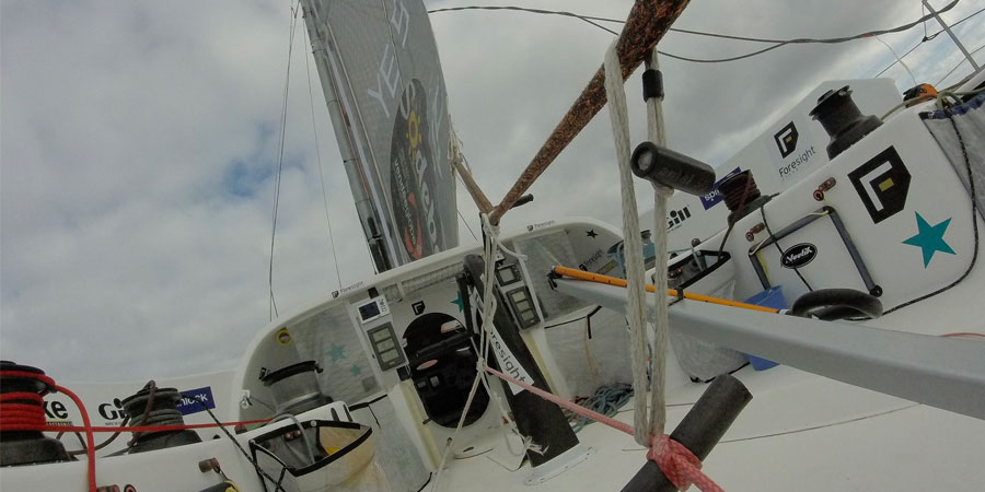 Photo of Conrad Colman speaks about his dismasting and battle to finish the Vendée Globe