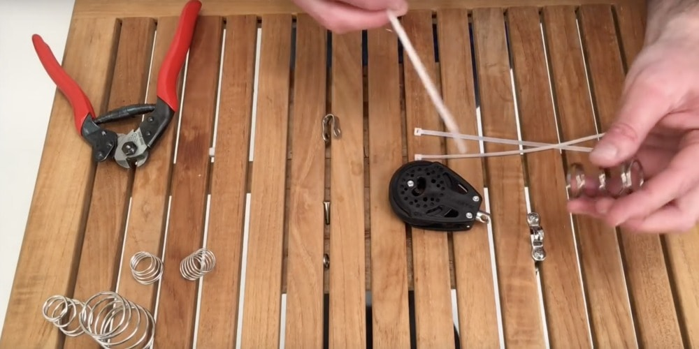 Photo of How to Install Stand Up Springs & Boots on Sailboat Blocks