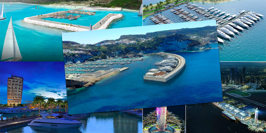 marinas around the world