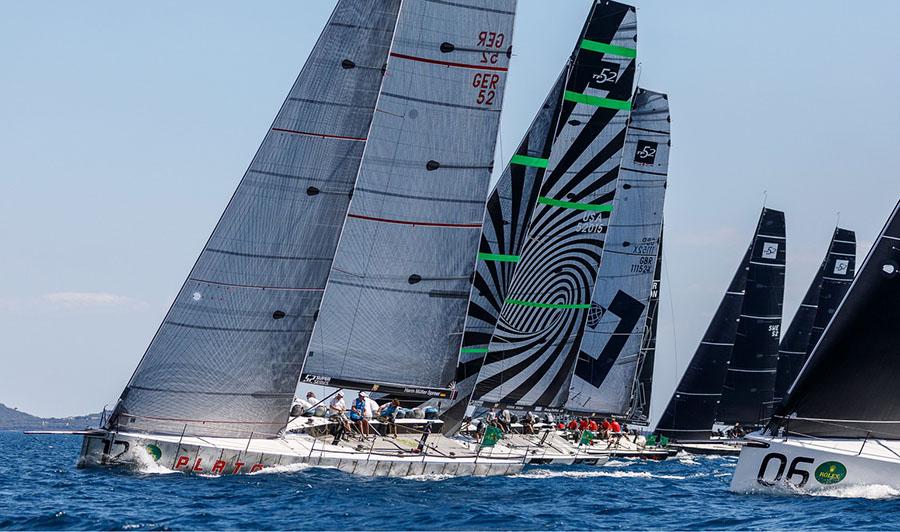 tp52 sailboats regatta