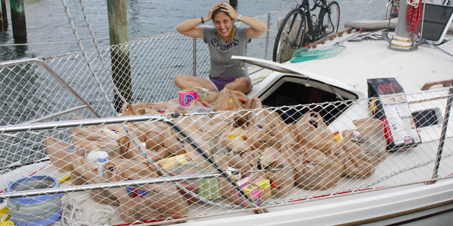 Food To Buy For a Sailing Trip