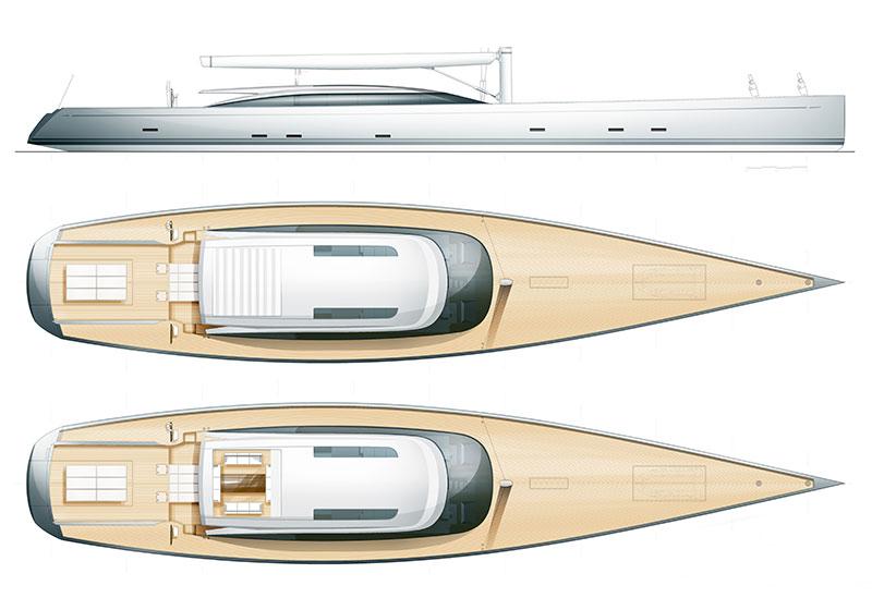 Briand 175' sail universe