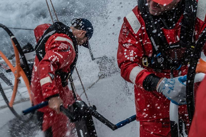 Volvo ocean race leg 9