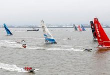 volvo ocean race final sprint