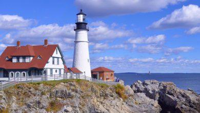 7 Lighthouses in USA Portland head