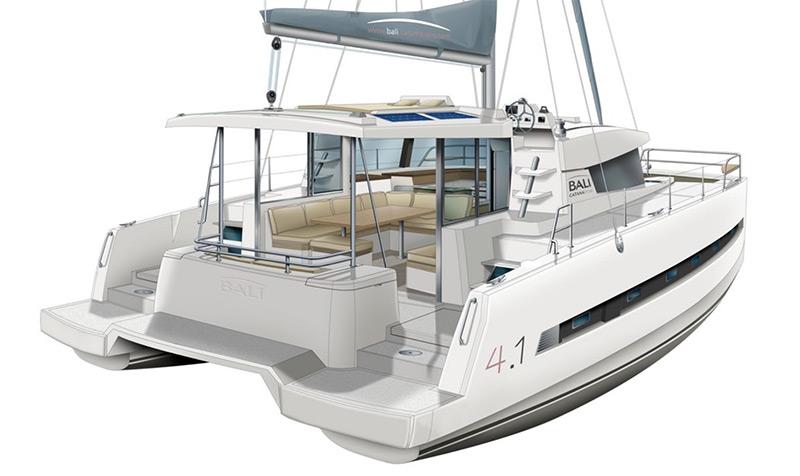 bali 4.1 United States Sailboat Show