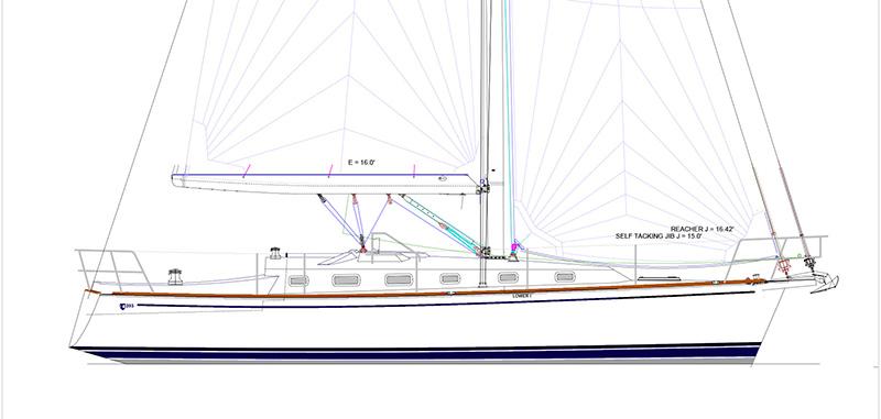 tartan 395 United States Sailboat Show