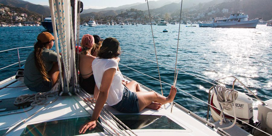 outdoor with family bareboat