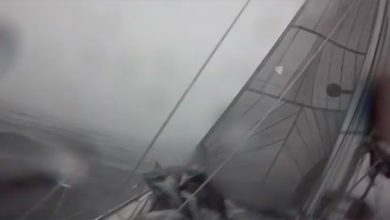 stormy sailing