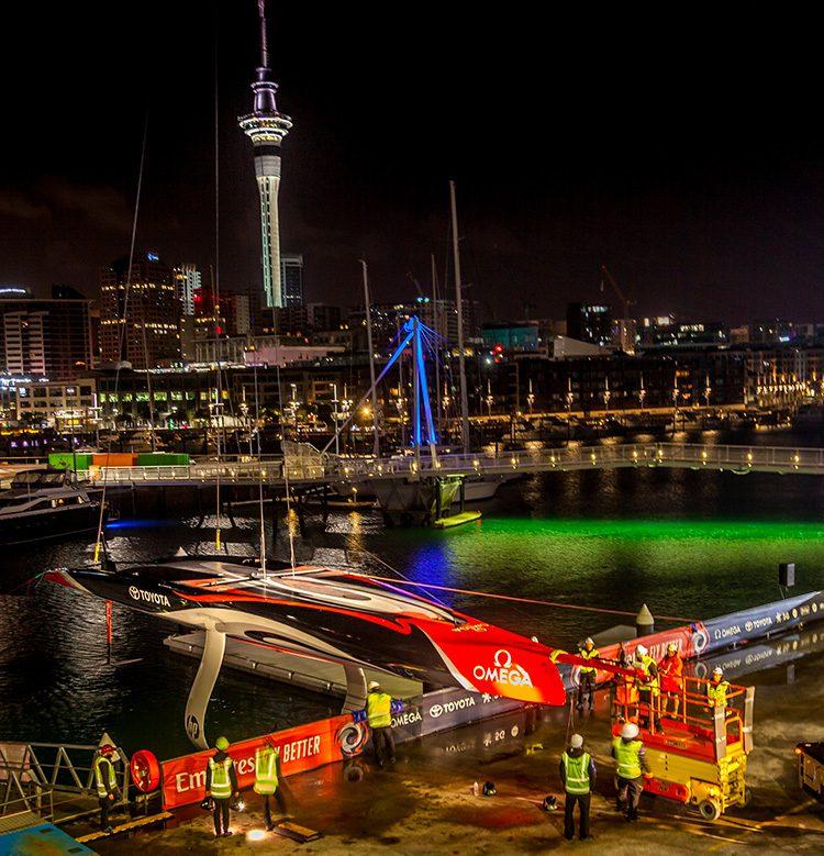 emirates team New Zealand ac75