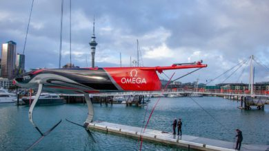 emirates team New Zealand ac75