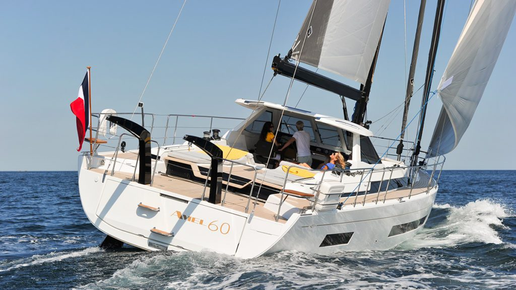 amel 60 navigation European yacht of the year