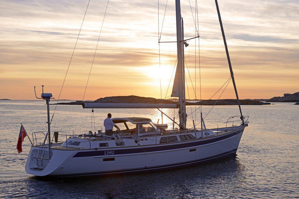 Hallberg Rassy 48 Mkll Bluewater sailboats
