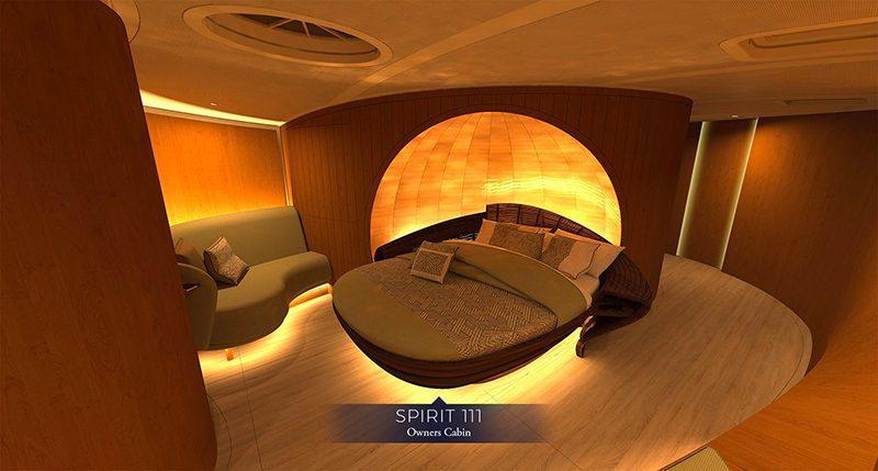 spirit yachts 111