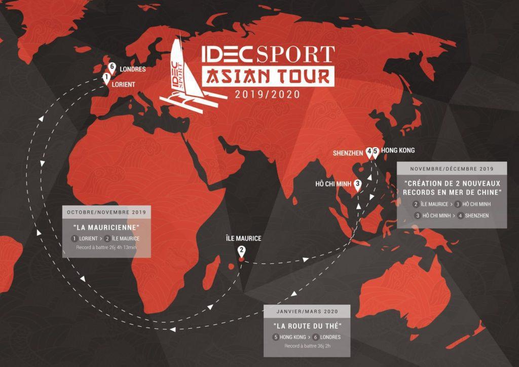idec asian tour