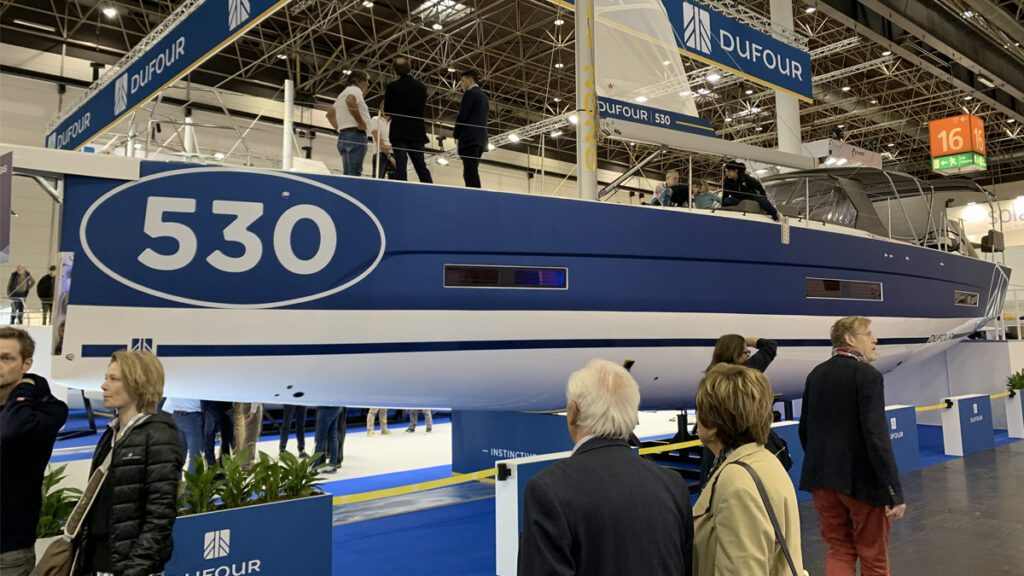 dufour 530 new sailboats