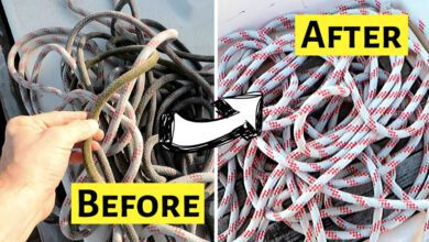 How To Wash Ropes