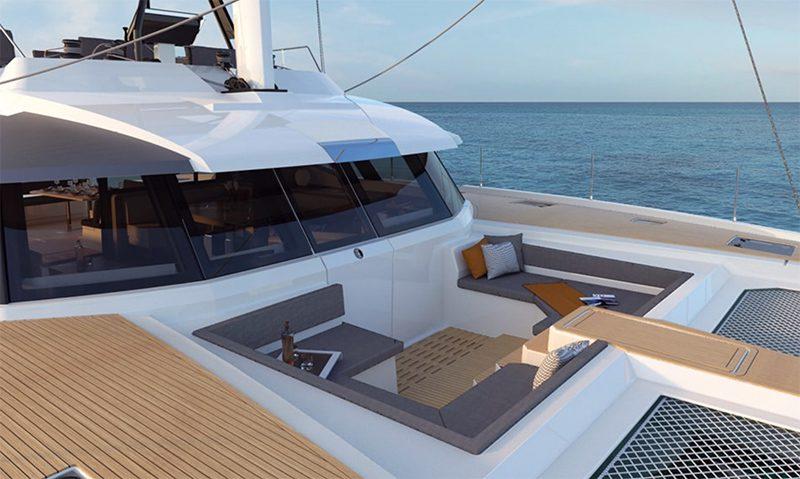 Fountaine Pajot new 59 catamaran
