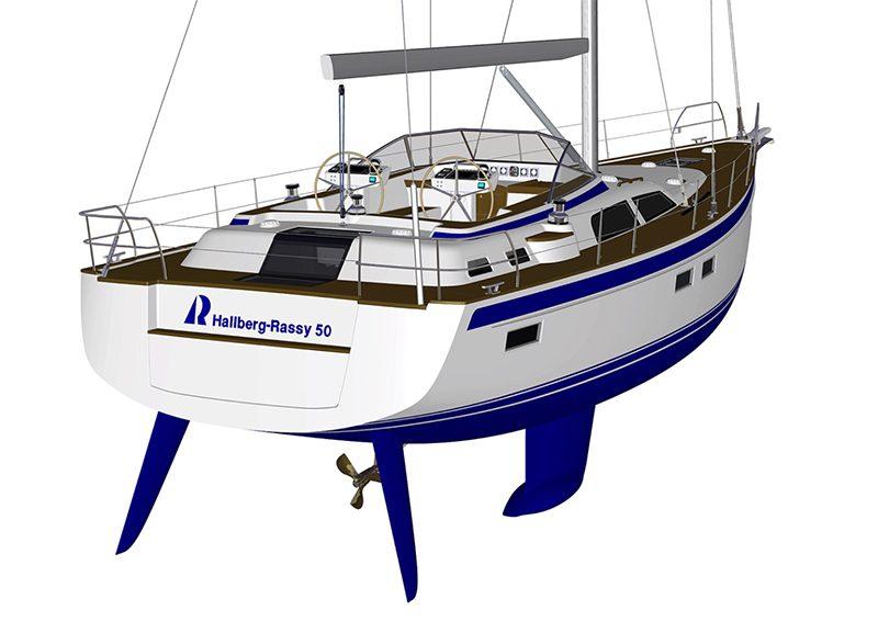 hallberg-rassy 50 Bluewater
