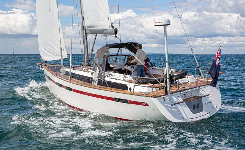 najad 395 cc Bluewater sailboats