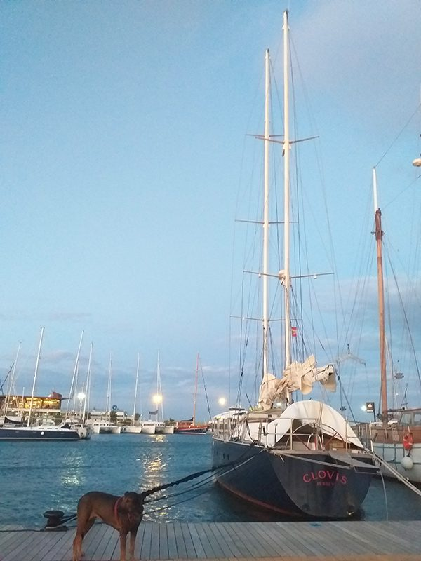 Clovis sailboat in formentera